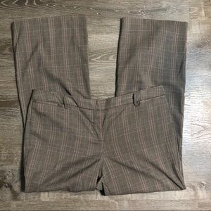 🍁Brown Plaid Dress Pants 🍂